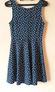 H&M Navy Mini dress
