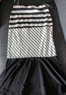 🚚 MDS striped skort