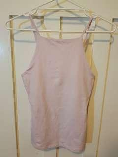 NEW Kookai baby pink singlet top