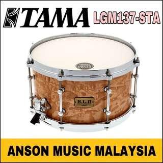 Tama LGM137-STA S.L.P. G-Maple Snare Drum, Satin Tamo Ash
