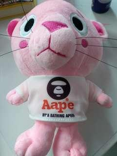 Pink panther aape soft toy