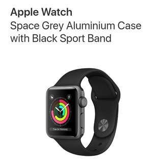 Apple Watch Series 3 (42mm Case GPS model)
