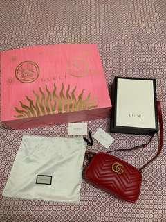 Gucci Marmont small matelassé shoulder bag