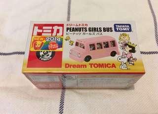 Peanuts girls bus