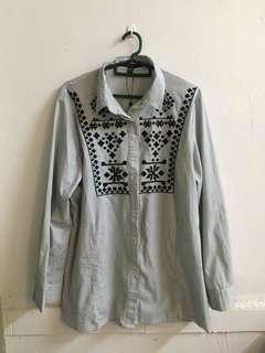 XXL Pure Working Blouse/Shirt/Top