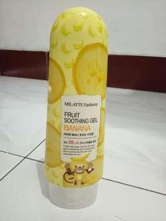 Milatte soothing gel banana
