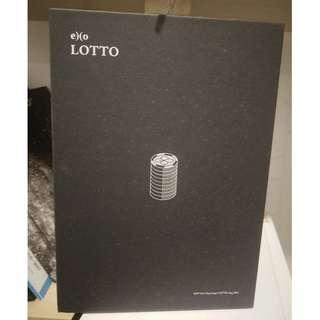 EXO Lotto EX'ACT Album Chinese Version