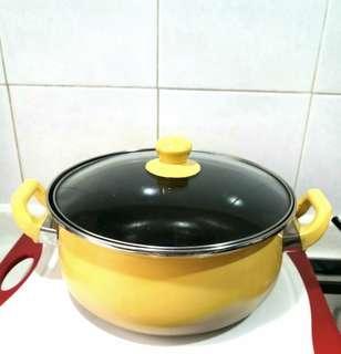 Ceramic Coated Casserole Pot 2L