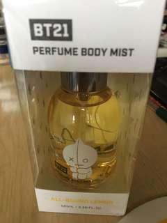BT21 Perfume Body Mist(All round lemon)100ml