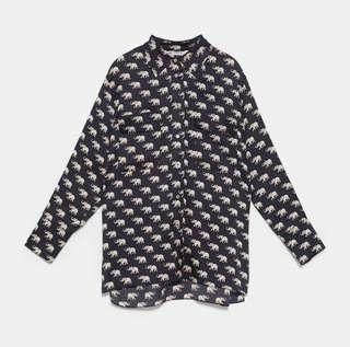 🆕blouse animal print