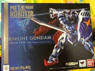 Metal robot 魂 Knight Gundam 騎士高達