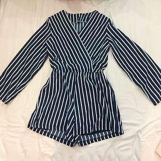 Stripes Romper/jumpsuit