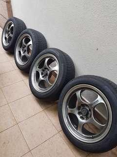 """16"""" Magline forged rims wheels 4x100"""