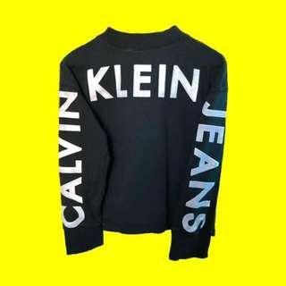 Calvin Klein Vintage Logo Jumper Women's XS