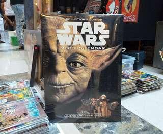 Star Wars 2000 CALENDAR (Collectors Edition)