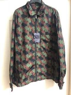 全新男裝prada NYLON jacket Sz L NEW