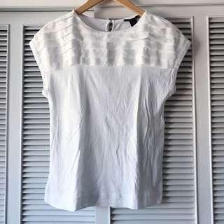 Mango White Shirt