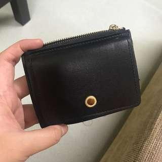 Black simple wallet