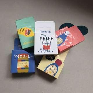 🚚 [INSTOCKS]: cute washi tapes