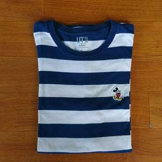 Mickey stripe t-shirt