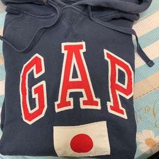 🚚 Gap日本國旗 帽T