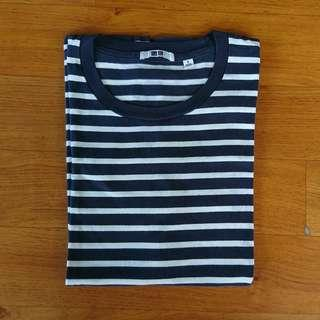 Kaos Stripe Uniqlo