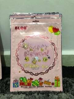 Balon Foil Paket Pesta