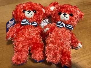 (全新) Bear Bear公仔,售$25/@