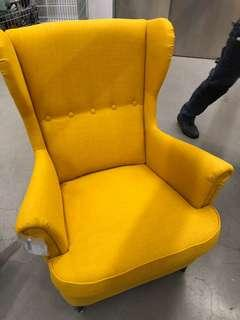 IKEA Strandmon wingchair YELLOW