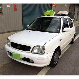 2003年 NISSAN  MARCH 1300.cc  白
