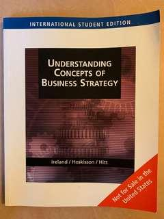 Understanding concepts of business strategy