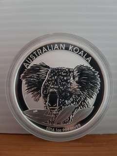 🚚 2014 silver coin