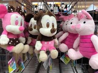 🚚 預購款👉坐姿草莓巧克力米妮/米奇/小豬💕