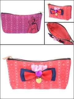 日本Disney正品White Snow白雪姬白雪公主惡毒皇后毒蘋果化妝袋筆袋收納袋