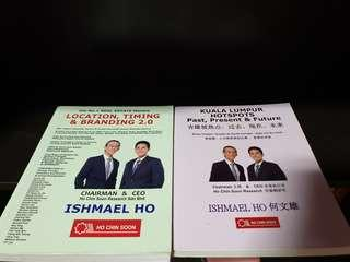 Malaysia Property Investing books by Ho Chin Soon and Ishmael Ho (2 books)