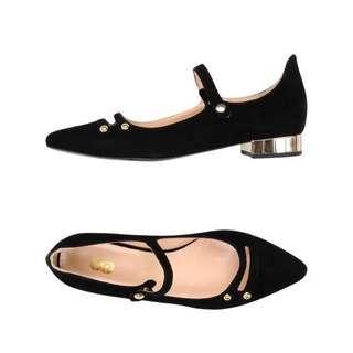Ballet Flat with heels