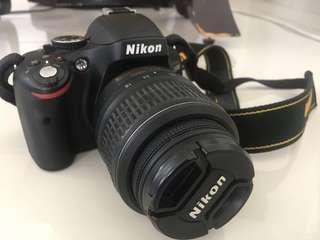 DSLR Nikon D5100 Digital Camera