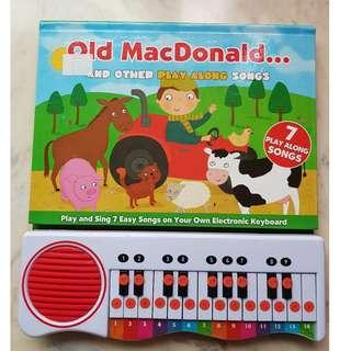 Kid's electronic keyboard