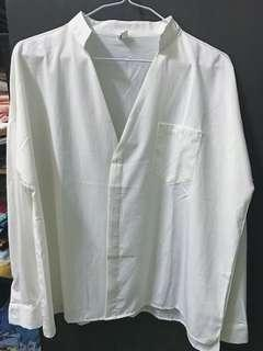 🚚 純白襯衫