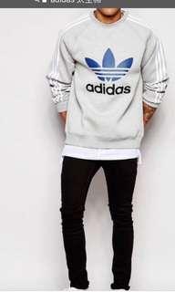 🚚 Adidas 太空棉 大學T