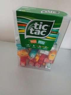 超的骰 Tictac (薄荷/香橙/清涼薄荷/熱情果味) 3.8g X 60pcs 大盒裝
