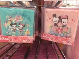 櫻花季限定🌸小方鏡(藍/粉)米奇米妮款
