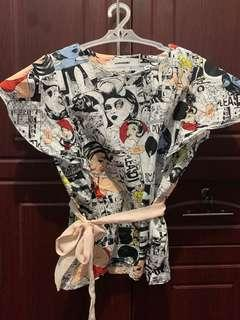 Comics blouse