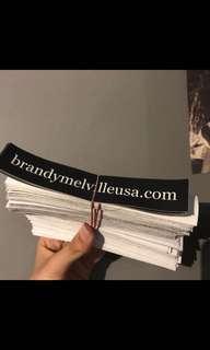 🚚 50 BRANDY MELVILLE WEBSITE STICKERS