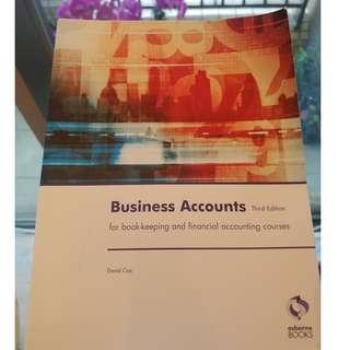 Business Accounts 3rd Edition (David Cox)