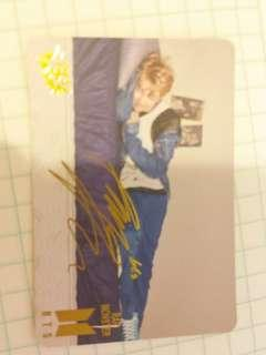 bts RM yes card