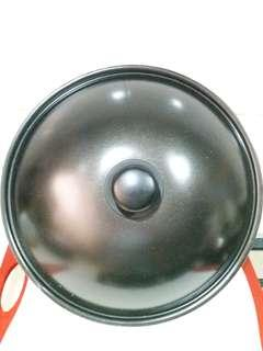 Stainless Steel Black Wok Cover