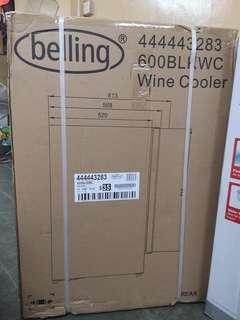 BELLING 600BLKWC WINE COOLER DUAL TEMPERATURE