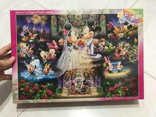Mickey Mouse Stained Art Jigsaw Puzzle 1000 pieces