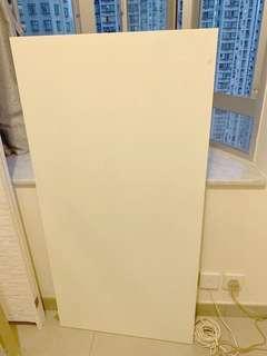 🈹 Ikea 白色書桌/餐桌板+兩隻桌腳